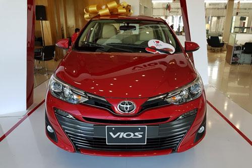 Toyota Vios sắp có thế hệ kế nhiệm ở Việt Nam.