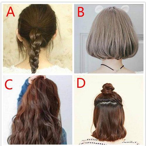 Bạn chọn kiều tóc nào?