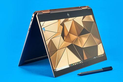 Laptop 2 trong 1 tốt nhất: HP Spectre x360 13 2019 (giá khởi điểm: 1.100 USD).