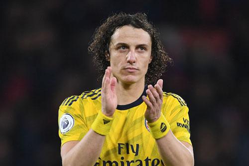 Hậu vệ: David Luiz (Arsenal).
