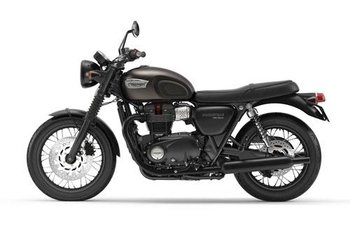 4. Triumph Bonneville T100 Black 2020 (giá: 10.450 USD).