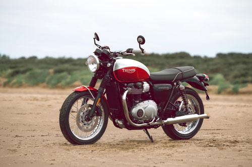 6. Triumph Bonneville T100 Bud Ekins 2020 (giá: 12.159 USD).