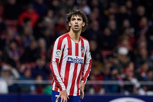 Tiền vệ trung tâm: Joao Felix (Atletico Madrid).