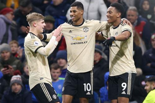 M.U khép lại năm 2019 bằng 3 điểm trọn vẹn.