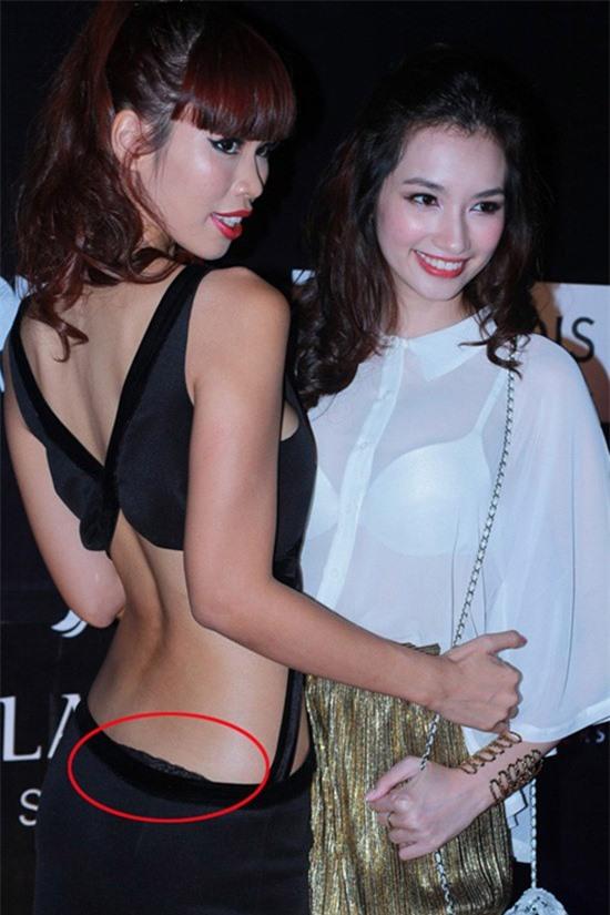 "Nhung trang phuc khoet lung bi gan mac ""tham hoa"" cua sao Viet-Hinh-3"
