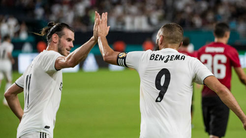 Bale và Benzema đang thể hiện hai bộ mặt trái người sau khi Ronaldo ra đi.