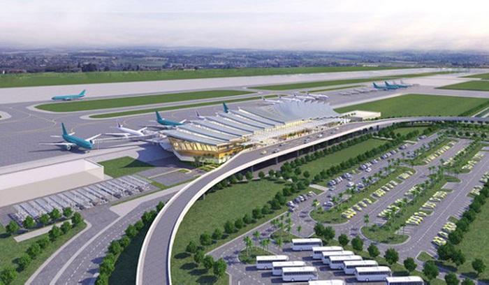 Phối cảnh nhà ga hành khách T2 – CHKQT Phú Bài do ACV làm chủ đầu tư có tổng vốn đầu tư khoảng 2.250 tỷ đồng
