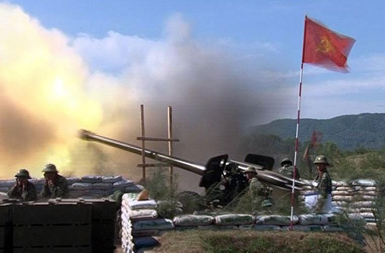 Khẩu pháo nòng rãnh xoắn có tầm bắn xa nhất trong biên chế của Quân đội Việt Nam hiện tại là lựu pháo dã chiến M-46 cỡ nòng 130mm. Nguồn ảnh: Forces.