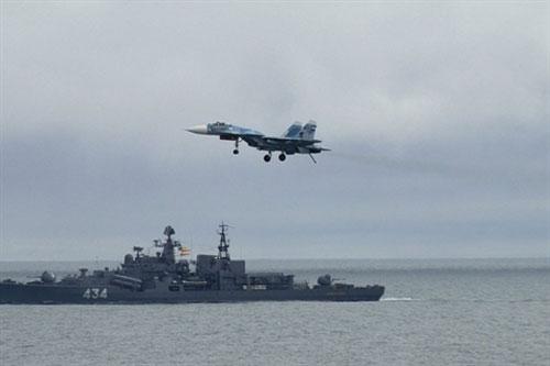 Hải quân Mỹ có thể tấn công trực tiếp hạm đội Nga ngoài khơi Syria