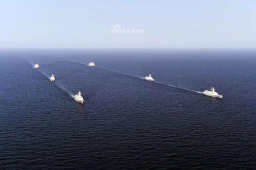 Căn cứ Hải quân Thanh Đảo bắt đầu được xây dựng lại từ năm 1950 và bắt đầu từ năm 1960, Hạm đội Bắc Hải của Trung Quốc được thành lập. Vùng hoạt động của lực lượng này trải dài từ vùng biển Hoàng Hải cho tới khu vực Thanh Đảo, Trung Quốc. Nguồn ảnh: Sina.