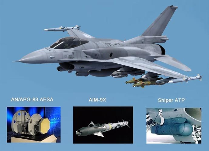 Tập đoàn Lockheed Martin đang phối hợp với Không quân Mỹ nâng cấp phiên bản máy bay F-16V với hệ thống radar tạo chùm nhanh (SABR) quét mảng pha điện tử chủ động (AESA) APG-83 tân tiến của tập đoàn Northrop Grumman, với sự cải tiến này chiến đấu cơ F-16 sẽ mang trong mình một sức mạnh mới.