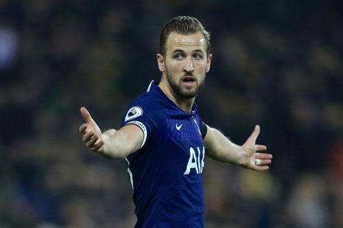 Tiền đạo: Harry Kane (Tottenham).