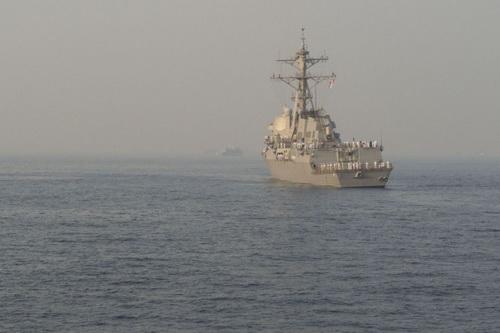 Hải quân Mỹ đang triển khai lực lượng áp sát biên giới Nga. Ảnh: Avia.pro.