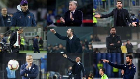 Serie A dẫn đầu trào lưu trảm tướng