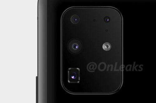 Hình ảnh rò rỉ về cụm camera sau của Galaxy S11.