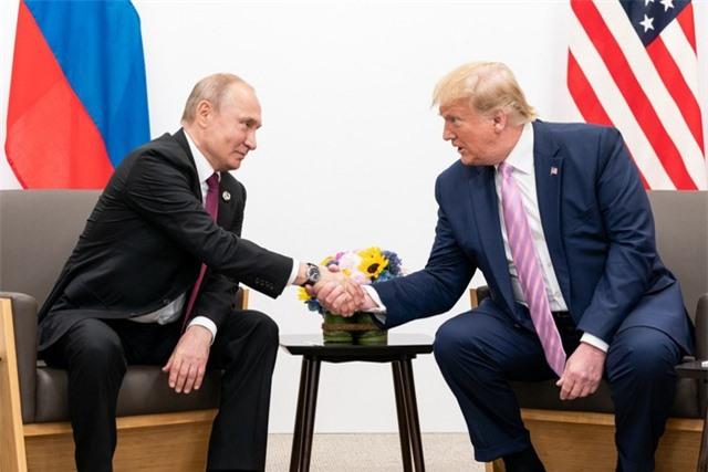 Ông Putin cảm ơn ông Trump giúp Nga phá âm mưu khủng bố - 1