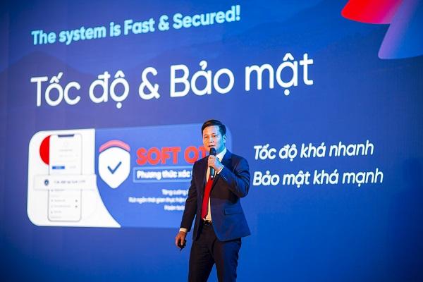 Các giao dịch trên iPay Mobile đều được bảo mật an toàn bằng Soft OTP.