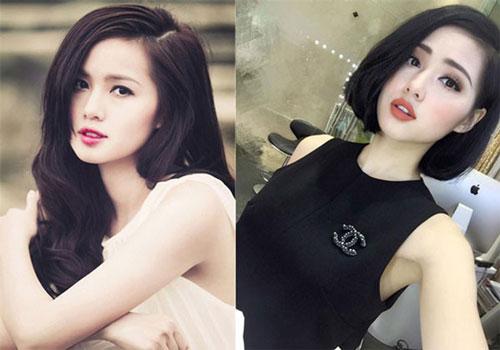 Hot girl Tâm Tít trông trẻ trung, rạng ngời hơn hẳn với mẫu tóc ngắn này. Ảnh: nhipsongphunu.