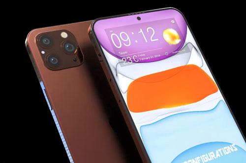 Ý tưởng thiết kế iPhone 12 Pro Max.