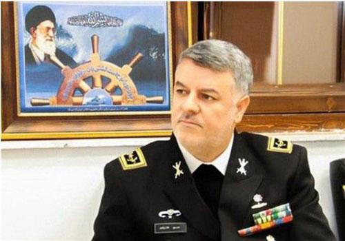 Tư lệnh Hải quân Iran, Chuẩn Đô đốc Hossein Khanzadi. (Ảnh: Tehran Times)