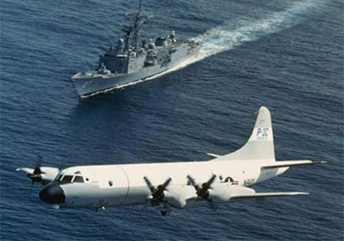 Máy bay tuần tra săn ngầm P-3C.