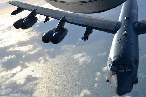 Trước khi hình ảnh thật của AGM-183A được Mỹ công bố, oanh tạc cơ B-52H cũng đã cất cánh với quả tên lửa loại này để thử nghiệm.