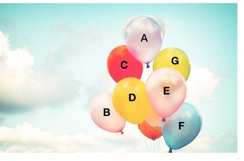 Bạn chọn quả bóng nào?
