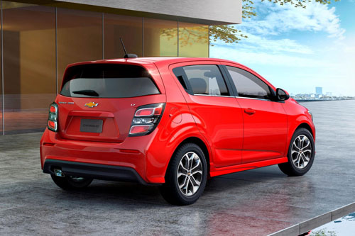 5. Chevrolet Sonic 2020.