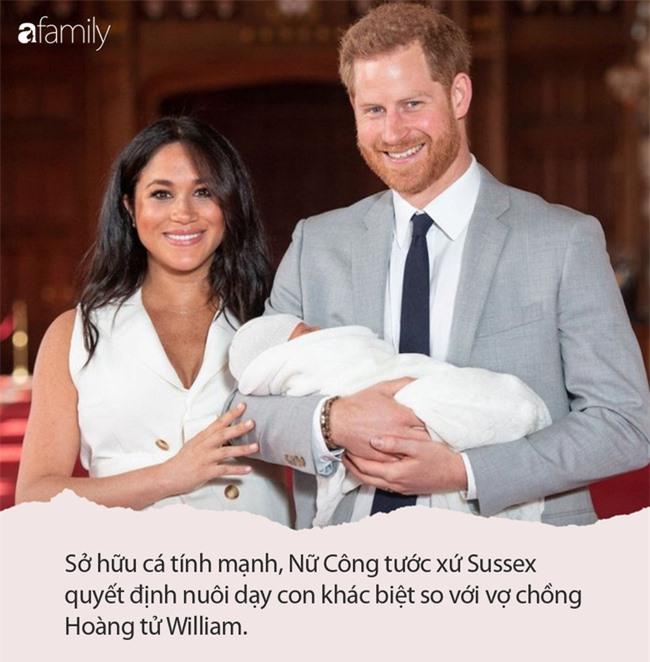 """Là nhân vật bị ghét nhất nhì Hoàng gia Anh, Công nương Meghan Markle quyết định nuôi con theo cách """"một mình một lối"""" như này - Ảnh 4."""