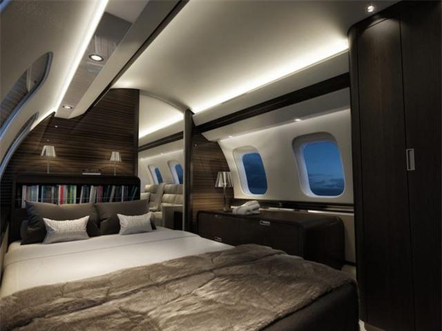 Nội thất sang chảnh bên trong các máy bay tư nhân đắt đỏ nhất thế giới - 11