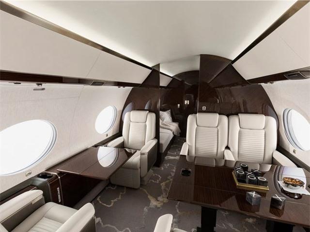 Nội thất sang chảnh bên trong các máy bay tư nhân đắt đỏ nhất thế giới - 7
