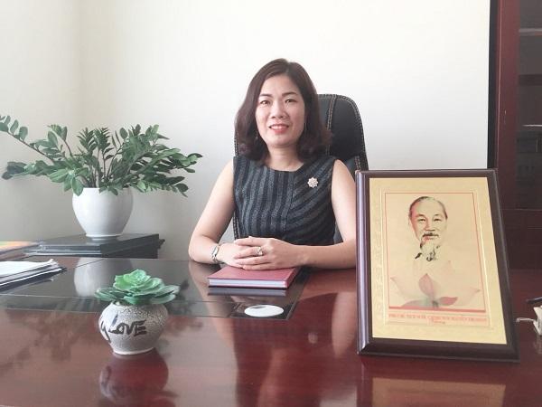 Nguyễn Bích Lan – Giám đốc Trung tâm Hợp tác Phát triển ICT.