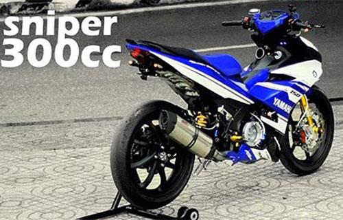 Yamaha Exciter 300cc.