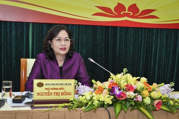 Phó Thống đốc Ngân hàng Nhà nước Nguyễn Thị Hồng.