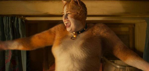 """Kỹ xảo CGI vụng về và sơ sài là một trong những nguyên nhân khiến khán giả rời xa """"Cats""""."""