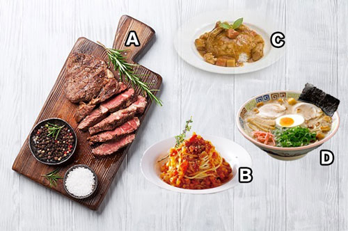 Bạn chọn món ăn nào?