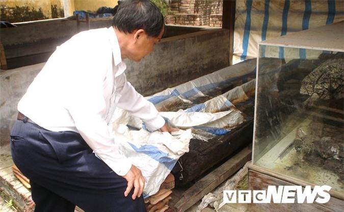 Sửng sốt với nghĩa địa mộ thân cây gỗ lim nguyên vẹn từ 3.000 năm trước ở Hưng Yên - Ảnh 1.
