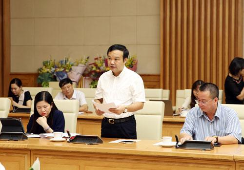 Ông Nguyễn Anh Tuấn, Cục trưởng Cục Quản lý giá (Bộ Tài chính). Ảnh: VGP/Thành Chung