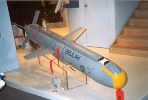 Tên lửa hành trình Delilah của Israel được coi là một trong những loại tên lửa hành trình nguy hiểm nhất hiện nay. Khả năng tấn công chính xác cực cao là một trong những ưu điểm xuất sắc của loại vũ khí này.