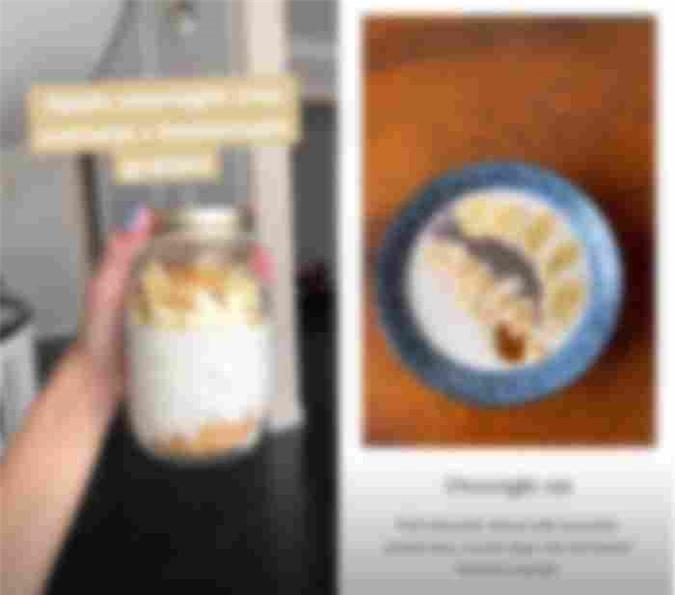 Để chế biến món này bạn chỉ cần ngâm yến mạch cùng sữa tươi/ sữa hạt và các loại hạt, trái cây yêu thích… trong hũ thủy tinh, đặt ngăn mát tủ lạnh qua đêm và sáng hôm sau đem ra thưởng thức luôn