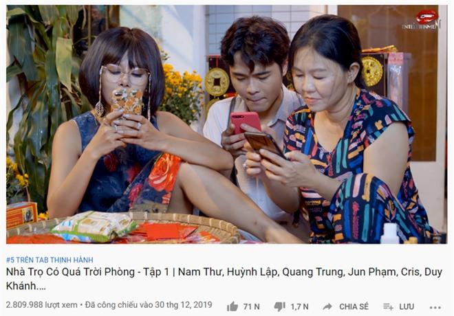 Đạt gần 3 triệu view, web drama mới của Nam Thư leo thẳng lên top 5 thịnh hành Youtube  - Ảnh 1.