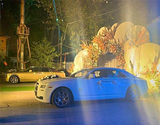Hé lộ chi phí tổ chức khủng 54 tỷ đồng cùng hình ảnh dàn xe siêu sang biển tứ quý bạc tỷ trong đám cưới con đại gia Quảng Ninh  - Ảnh 8.