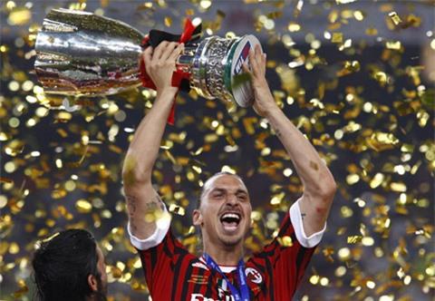Lần gần nhất Milan giành chức vô địch là từ thời Ibrahimovic còn khoác áo Rossoneri