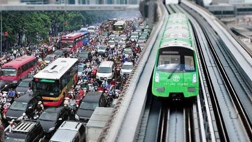 Tuyến đường sắt đô thị Cát Linh - Hà Đông đến nay vẫn chưa hoàn thành và đưa vào sử dụng