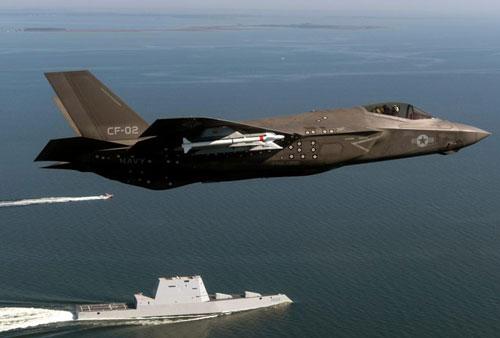 Tiêm kích F-35C của hải quân Mỹ.