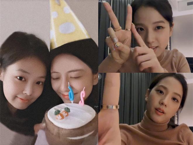 """Jisoo thắc mắc vì được tặng bánh có hình… củ cà rốt thì nhận được câu trả lời vừa """"mặn"""" vừa cute của Jennie: Fan đẩy thuyền cũng đúng mà! - Ảnh 4."""