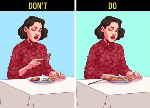 Tập thói quen ăn chậm, nhai kỹ