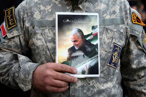 Qassem Soleimani, Tư lệnh Lực lượng Quds tinh nhuệ thuộc Vệ binh Cách mạng Iran, thiệt mạng trong vụ không kích của Mỹ. (Ảnh: Reuters)