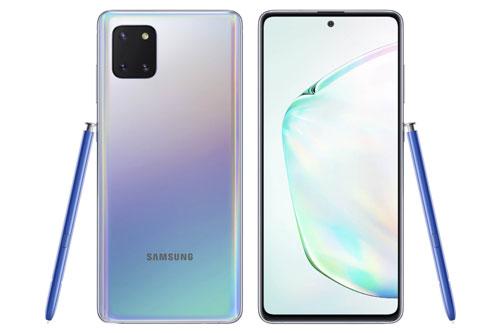 Sức mạnh phần cứng của Samsung Galaxy Note 10 Lite đến từ vi xử lý Exynos 9810 (10nm) lõi 8 với xung nhịp tối đa 2,7 GHz, GPU Mali-G72 MP18. RAM 6 hoặc 8 GB, bộ nhớ trong 128 GB, có khay cắm thẻ microSD với dung lượng tối đa 512 GB. Hệ điều hành Android 10.0; được tùy biến trên giao diện One UI 2.
