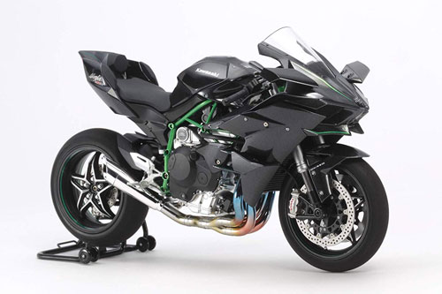 2. Kawasaki Ninja H2R (vận tốc tối đa: 401 km/h).